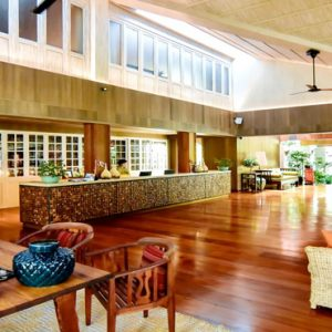 Thailand Honeymoon Packages The Tongsai Bay, Koh Samui Reception