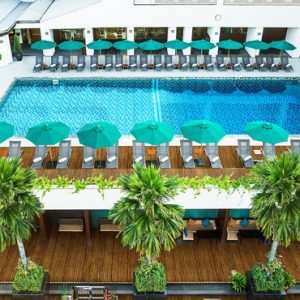 luxury Thailand holiday Packages Royal Orchid Sheraton Garden Pool Restaurant And Bar