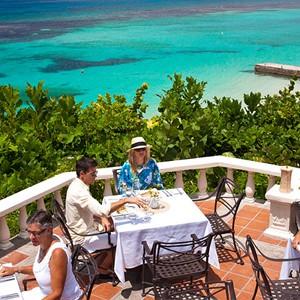 The Reef Terrace - Sandals Ochi Beach Resort jamaica - Luxury Jamaica Holidays