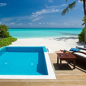 Velassaru Maldives - Beach Villa with Pool - Beach