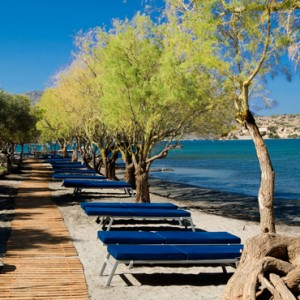 beach - domes of elounda - luxury greece holiday packages