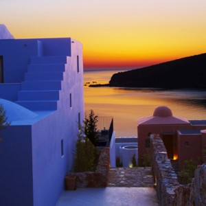 exterior 2 - domes of elounda - luxury greece holiday packages