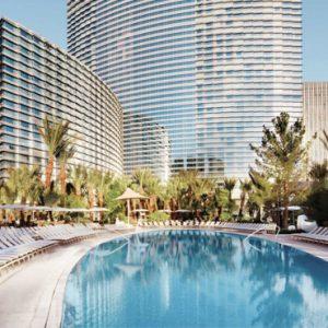 Exterior Aria Resort And Casino Luxury Las Vegas Honeymoon Packages
