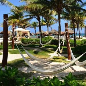 hammocks - Catalonia Yucatan Beach - Luxury Mexico Holiday Packages