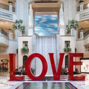 Lobby 4 The Palazzo Las Vegas Luxury Las Vegas holiday Packages