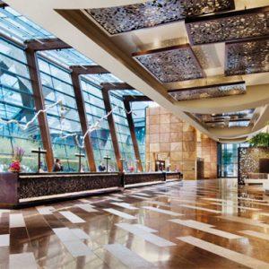 Lobby Aria Resort And Casino Luxury Las Vegas Honeymoon Packages