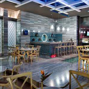luxury holidays turkey - Hilton Dalaman Sarigerme - bar 2