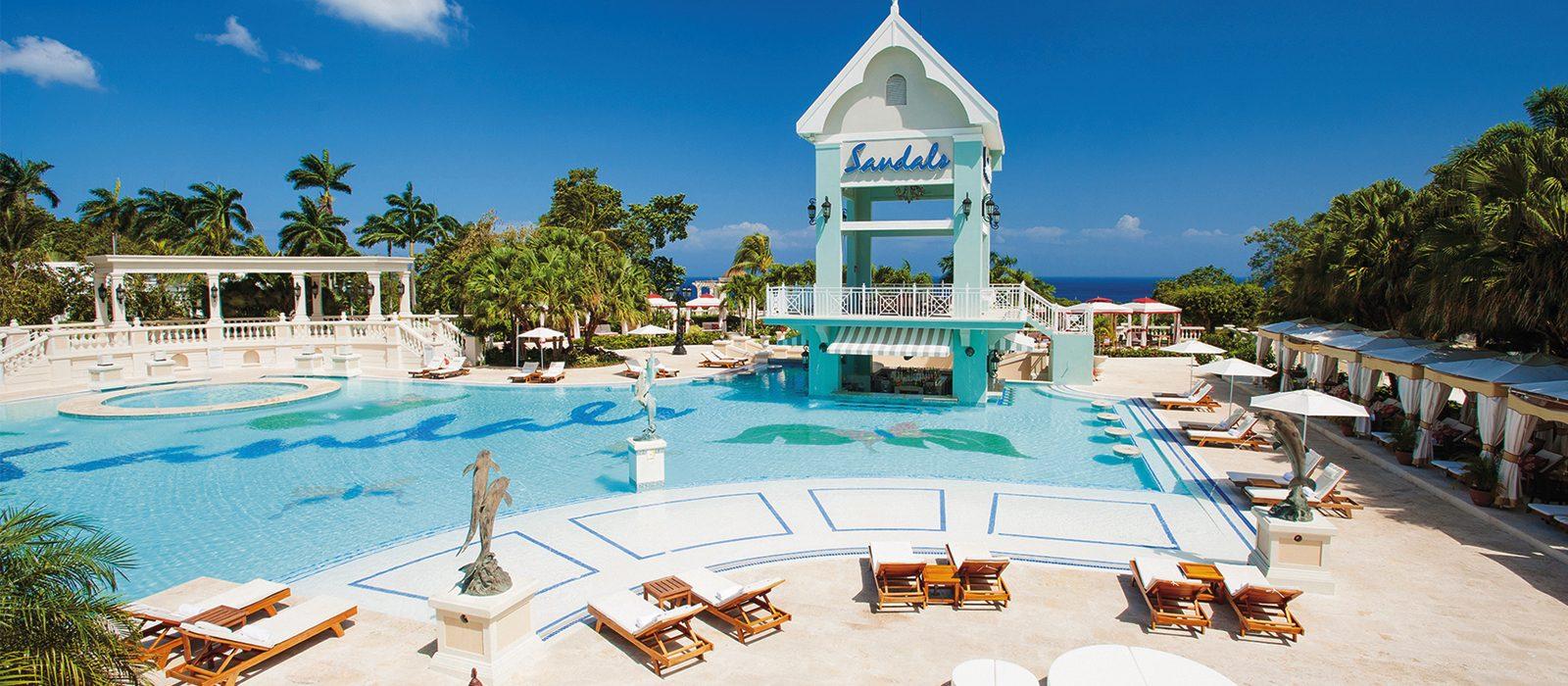 Luxury Jamaica Holiday Packages Sandals Ochi Beach Jamaica Header