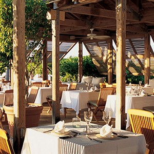 parrot cay by como - turqs and caicos lucury holidays - dining