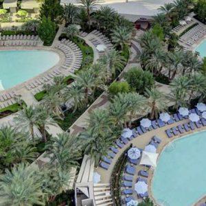 Pool 2 Aria Resort And Casino Luxury Las Vegas Honeymoon Packages
