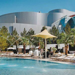 Pool 3 Aria Resort And Casino Luxury Las Vegas Honeymoon Packages
