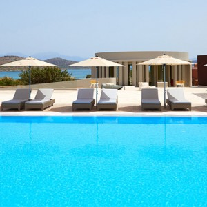pool 4 - domes of elounda - luxury greece holiday packages