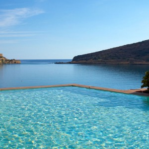 pool 7 - domes of elounda - luxury greece holiday packages