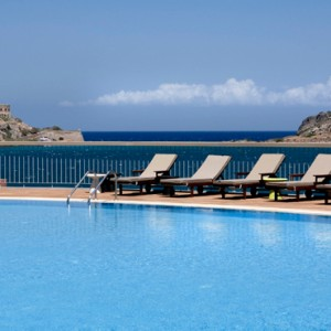 pool - domes of elounda - luxury greece holiday packages