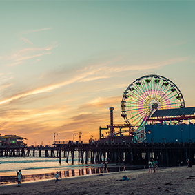 Los Angeles Holidays - Santa Monica Pier - Thumbnail
