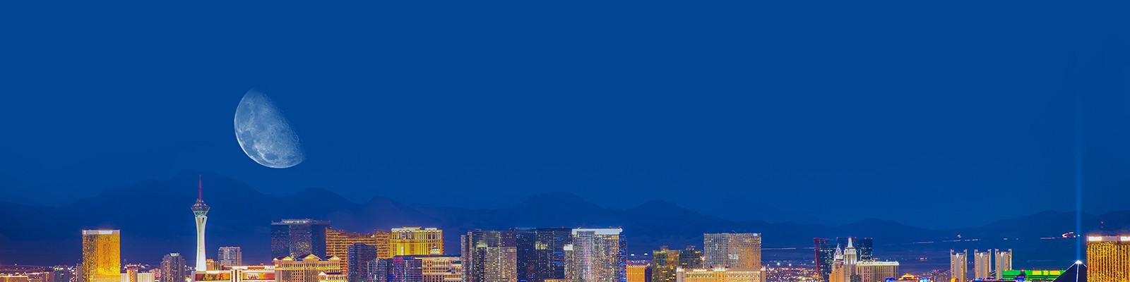 Luxury Las Vegas Holidays - Las Vegas Strip - Header