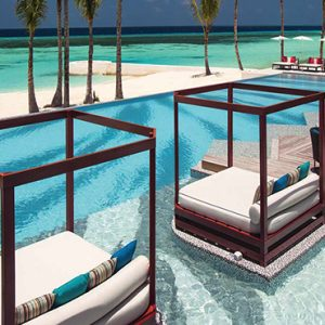 Ozen By Atmosphere At Maadhoo Island Luxury Maldives Honeymoon Packages Joie De Vivre Pool Cabana1