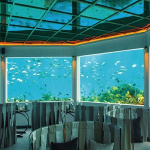 Ozen By Atmosphere At Maadhoo Island Luxury Maldives Honeymoon Packages M6m Underwater Restaurant3