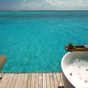 Ozen By Atmosphere At Maadhoo Island Luxury Maldives Honeymoon Packages Spa Treatment Room View