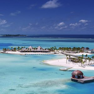 Ozen By Atmosphere At Maadhoo Island Luxury Maldives Honeymoon Packages Aerial View