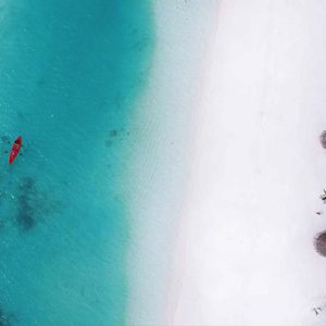 Ozen By Atmosphere At Maadhoo Island Luxury Maldives Honeymoon Packages Aerial View2