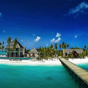 Ozen By Atmosphere At Maadhoo Island Luxury Maldives Honeymoon Packages Resort Exterior