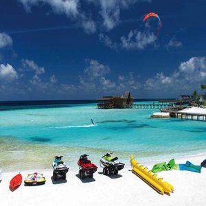 Ozen By Atmosphere At Maadhoo Island Luxury Maldives Honeymoon Packages Watersport Activities1