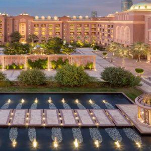 Ballroom Terrace View Emirates Palace Abu Dhabi Abu Dhabi Holidays