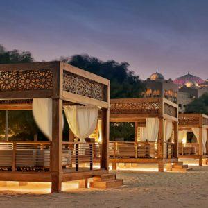 Exterior View At Night From Cabanas Emirates Palace Abu Dhabi Abu Dhabi Holidays