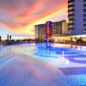Hard Rock Hotel Tenerife - Luxury Spain holiday packages - Exterior at night