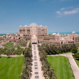 Hotel Exterior By Day Emirates Palace Abu Dhabi Abu Dhabi Holidays