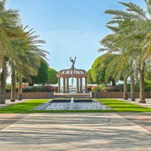 Outside Wing Emirates Palace Abu Dhabi Abu Dhabi Holidays