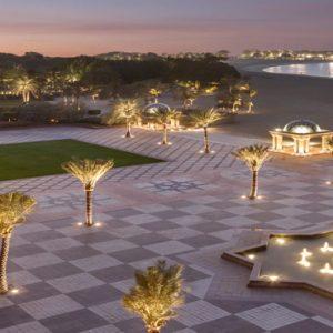 Terrace Area At Night Emirates Palace Abu Dhabi Abu Dhabi Holidays