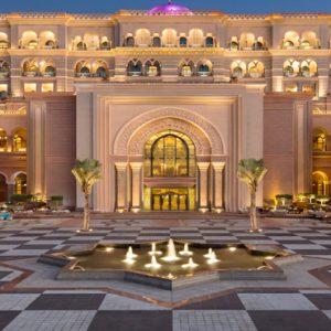 Terrace Area At Night1 Emirates Palace Abu Dhabi Abu Dhabi Holidays