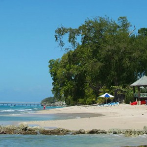 little good harbor - luxury barbados - beach