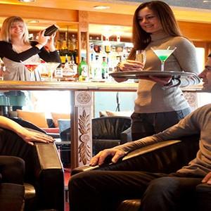 Club Med Meribel LAntares - France holiday - bar