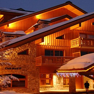 Club Med Meribel LAntares - France holiday - clubmed nightview