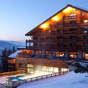 Club Med Meribel LAntares - France holiday - exterior