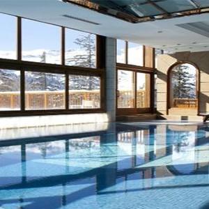 Club Med Meribel LAntares - France holiday - inside pool
