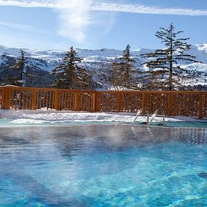 Club Med Meribel LAntares - France holiday - outside pool
