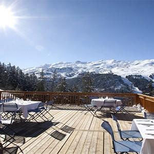 Club Med Meribel LAntares - France holiday - restuarant view
