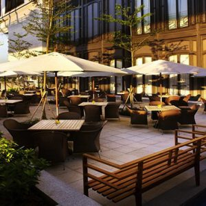 luxury Hong Kong holiday Packages Harbour Grand Hong Kong Lobby Lounge Terrace