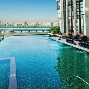 luxury Hong Kong holiday Packages Harbour Grand Hong Kong Outdoor Swimming Pool