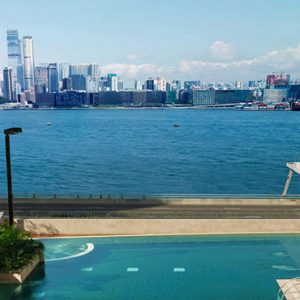luxury Hong Kong holiday Packages Harbour Grand Hong Kong Harbour Views From Pool