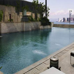 luxury Hong Kong holiday Packages Harbour Grand Hong Kong Harbour Views From Pool1
