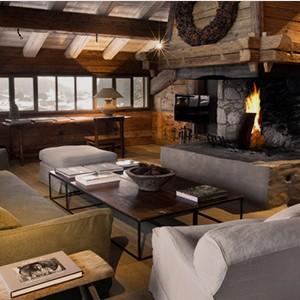 Le chalet Zannier - France Ski Holidays - Suite 1 Lounge room