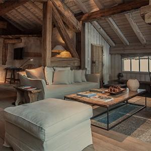 Le chalet Zannier - France Ski Holidays - Suite 2 lounge room