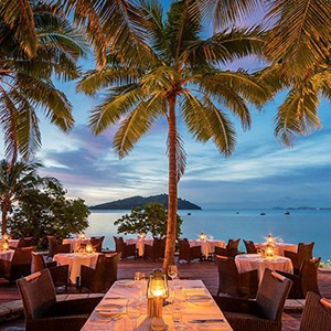 Likuliku lagoon resort - fiji holiday - fijiana restaurant