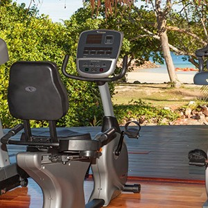 Likuliku lagoon resort - fiji holiday - gym