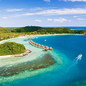 Likuliku lagoon resort - fiji holiday - view